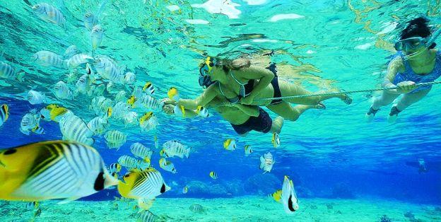 Snorkeling in Plytra