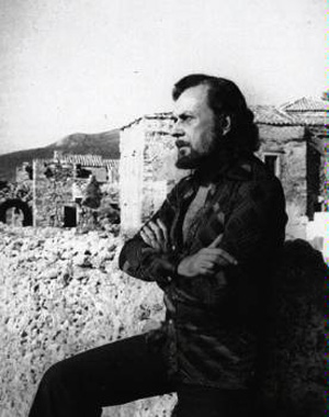 Young Yiannis Ritsos in Monemvasia