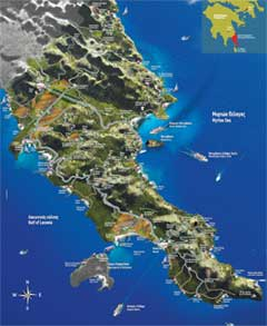 3D map of Monemvasia