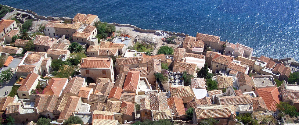 <h1>Welcome to Monemvasia</h1><h3>Explore the timeless charm and beauty of the byzantine fortress with the SPECIALISTS. Take the Tour with us and remember, we are LOCAL. Let us guide you.</h3>